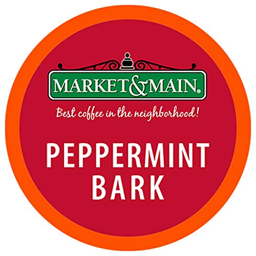 (Market & Main Peppermint Bark single serve coffee 18ct)