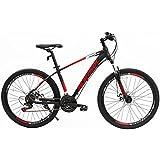 Uenjoy Murtisol Mountain Bike Men+Women's Bike Speed Fast Lightning 26'' 21 Speed Hybrid Bicycle Aluminum Frame Commuter Bike in 3 Color