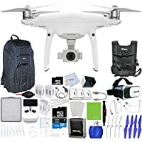 DJI Phantom 4 Pro+ Quadcopter + Xtreme VR Vue II (For iPhone/Android Screen Size 3.5-6) + 2 Intelligent Flight Battery (5350mAh) + Backpack Pro II + Multi-Charger Hub & More!