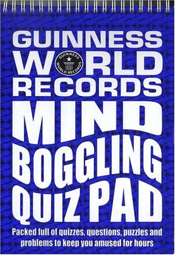 Guinness World Records: Mind Boggling Quiz Pad