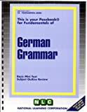 German Grammar, , 0837374251