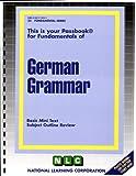 German Grammar, Jack Rudman, 0837374251