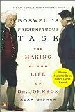 Boswell's Presumptuous Task, Adam Sisman, 0142001759