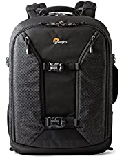 Lowepro Pro Runner Bp 450 AW II, Pro Photographer's Backpack, Purpose-Built to Organize and Protect Maximum Gear in A Compact Design, Black, (LP36875-PWW)