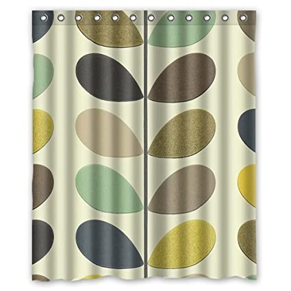Orla Kiely Custom Shower Curtain 60