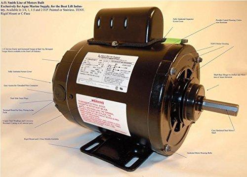3/4 HP Motor Only - TENV (56 Frame) (Tenv Motor Hp)
