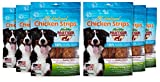 Healthy Partner Pet Snacks - All-Natural Chicken Strips - 3 oz. Bags, Pack of 6