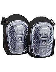 AmazonBasics Professional Gel Cushion Knee Pads - 1 Pair, Clear