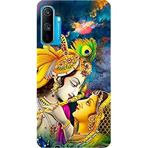BuyFeb Printed Soft Mobile Back Cover Case Compatible for Realme C3