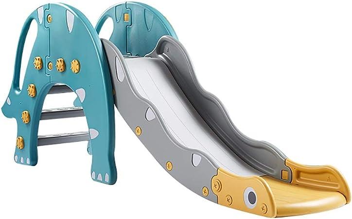 Tobogán Tobogán de plástico for niños, Uso for Patio de Juegos de jardín Interior y Exterior, toboganes Independientes con diseño Plegable (Color : Lla0292ht): Amazon.es: Hogar