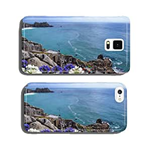 Flowers in front of the Minack Theatre cell phone cover case Samsung S5