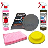SANMARINO KIT DESCONTAMINANTE CARROCERÍAS PROFESIONAL DISCO GRADO MEDIO 750 ML.