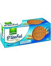 Gullon, No Sugar Added D'Liteful Digestive Cookies, 400 Grams, (Pack of 1)