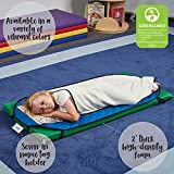 ECR4Kids 2-Inch Thick Rainbow Rest Nap Mats with