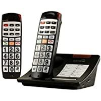 Serene DECT 6 Amplified Cordless Phone with Expansion Handset (CL65COMBO)