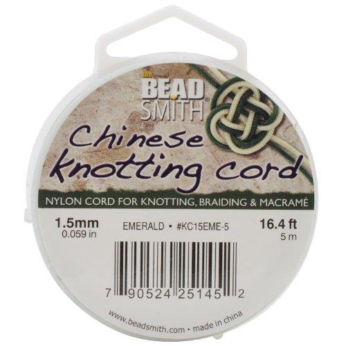 Beadsmith Chinese Knotting 16 4 Feet Emerald
