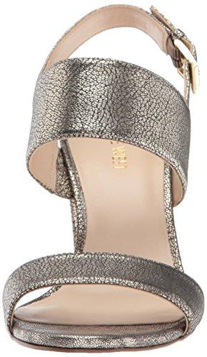 Sandal Metallic Women's Light West Nine Heeled Narolyn Gold TIRfnPq