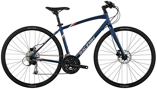 "Raleigh Bikes Raleigh 2016 Alysa 4 Women's Urban Fitness Bike, 15"" Frame, Blue, 15"" / Small"