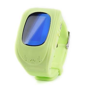 YYCOOL Reloj Inteligente Q50 para Niños con SOS Llamada Alarma ...