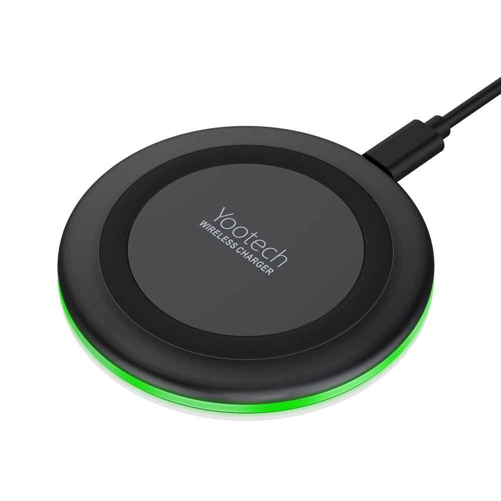 Yootech Wireless Charger Compatible with iPhone Xs Qi-Enabled Phones
