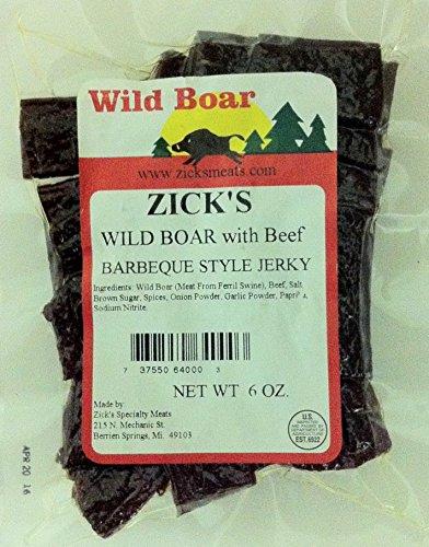 Wild-Boar-BBQ-Jerky-6oz-Exotic-Meat-Wild-Game-Beef-Jerky