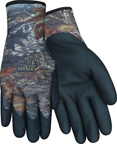 Red Steer Chilly Grip Mossy Oak Water Resistant Heavyweight Thermal Cold Weather All Purpose Gloves (3 Pair Packs) - Chilly Grip