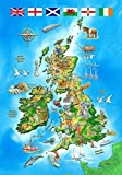 100pc Wentworth Wooden Jigsaw Puzzles - I Know My Map of the British Isles by Wentworth Wooden Puzzles
