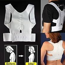 1PCS Magnetic Therapy Posture Back Shoulder Corrector Support Shoulder Brace Belt