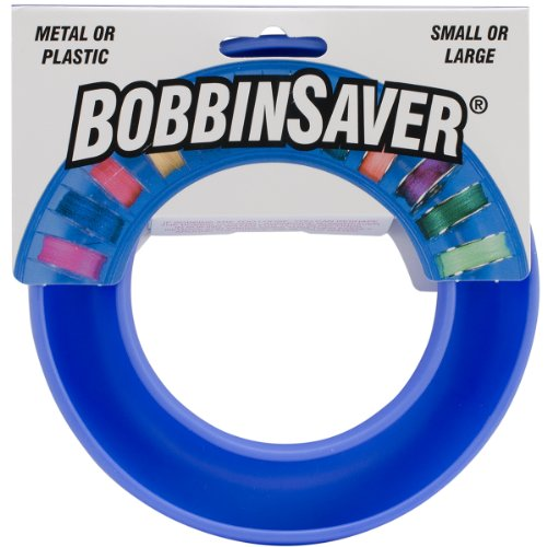 BobbinSaver Sewing Machine Bobbin Organizer - Holds 20+ Bobbins - ()
