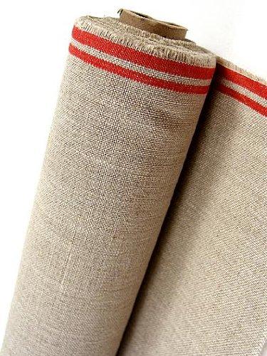 Fredrix Raw Unprimed Linen Canvas 52 in  x 30 yd  roll: Amazon co uk