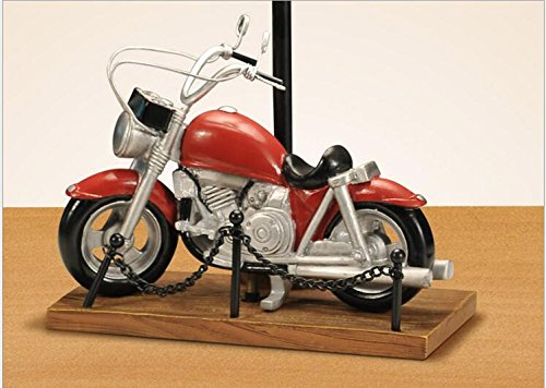 Novelty Motorcycle Lamp Table Desk Lamp Decoration for Kid Adult Home Living Room