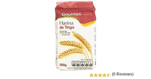 Gourmet - Harina de trigo - Contiene gluten - 500 g: Amazon.es ...