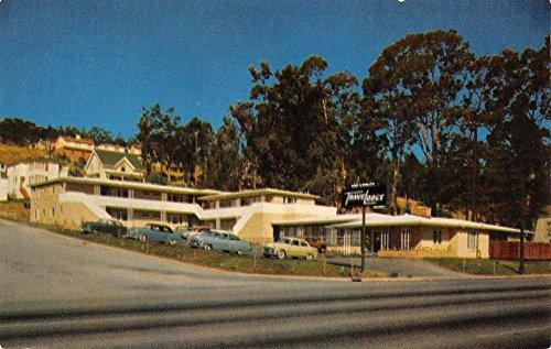 san-carlos-california-travelodge-street-view-vintage-postcard-k37221