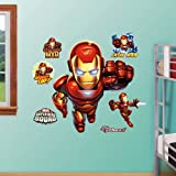 FATHEAD Iron Man: Super Hero Squad Graphic Wall Décor