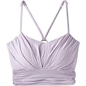 prAna Lici Bra – Women's Bleached Lavender, M