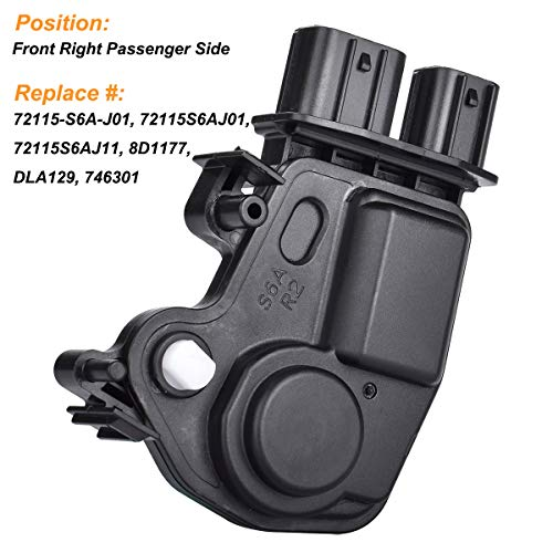 Odyssey 05-10 Right Power Door Lock Actuator compatible with Acura RSX 02-06