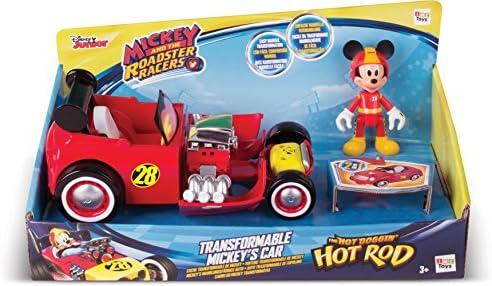 IMC Toys - Véhicule transformable Mickey - 182813 - Disney
