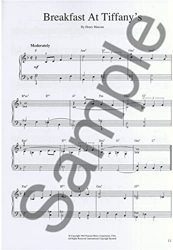 Its Easy To Play Classic Film Themes. Partituras para Piano y ...