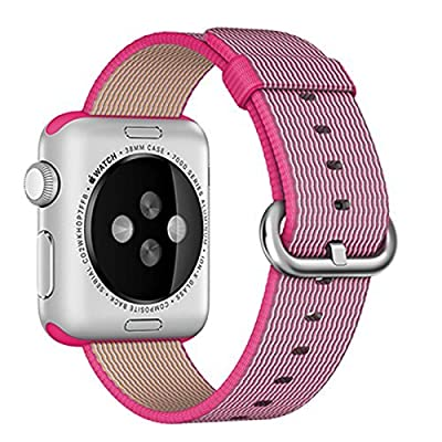 Apple Watch band Series 1 Series 2, Oitom Woven Nylon Watch Band Replacement Strap for Apple Watch 42mm 2015 & 2016 All Models