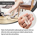 Madholly 6 Pairs Gel Arch Support Shoe Insert for