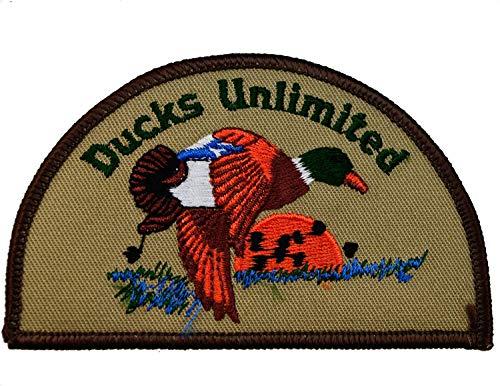 (Ducks Unlimited DU Wetlands Waterfowl Wildlife Embroidered Patch 3.7