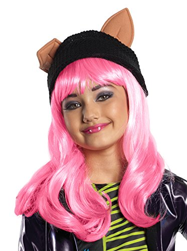 girls - kids-Monster High Howleen Child Wig Halloween