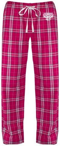 CollegeFanGear Holy Names Ladies Dark Fuchsia//White Flannel Pajama Pant Primary Mark
