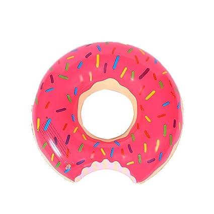 Royal Veces, Donut Flotador, Hinchable Donut 36102 Float Juguete Color Rosa para Adultos y