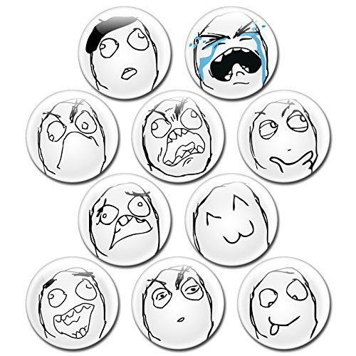 Dog Spider Costume Meme (Rage Face Button Bundle by EnderToys - 1