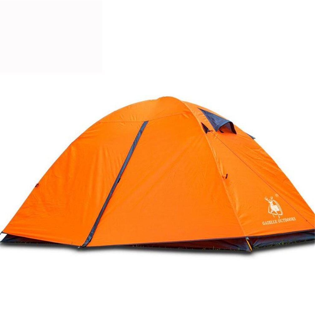 TTYY Outdoor-Zelt Wasserdicht Geeignet für 1  2 Personen Camping Field Survival Spring Tour