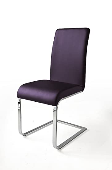 Schwingstuhl Lisa 2er-Set (Farbe: violett): Amazon.de: Küche & Haushalt