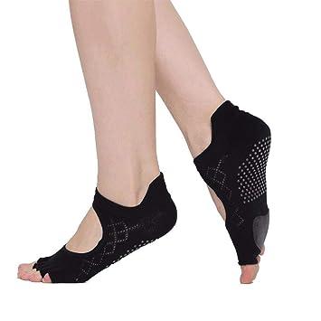 Liuxc Calcetines de yoga Calcetines de Yoga para Hombres ...