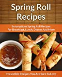 img - for Spring Roll Recipes: Scrumptious Spring Roll Recipes for Breakfast, Lunch, Dinner and More (The Easy Recipe) book / textbook / text book