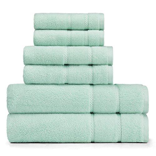 Amazon.com: Nautica Belle Haven 6-Piece Towel Set 6Piece Navy: Home & Kitchen
